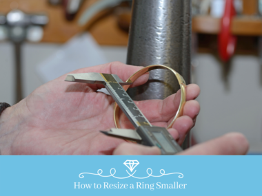 How to Resize a Ring Smaller