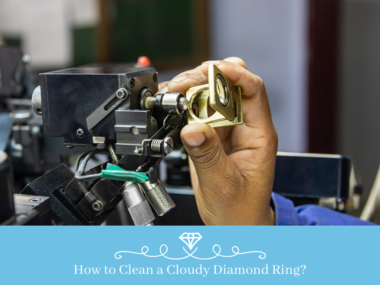 How to Clean a Cloudy Diamond Ring